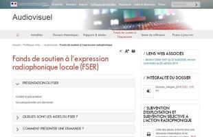 Le dossier FSER 2015 est en ligne